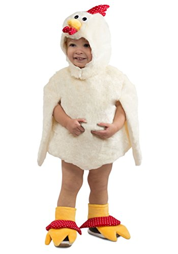 Reese the Rooster Baby Infant Costume - Baby 12-18 - Child White Rooster Costumes