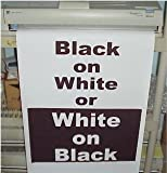 Variquest / Fujifilm / Varitronics Poster Paper (DTP) 36″ x 100′ rolls - Black on White