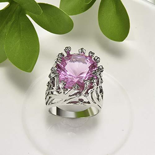Rhame Vintage Huge Amethyst Ring Prom Man Women Wedding Engagement Jewelry Size 6-10 | Model RNG - 21783 | C #10