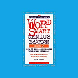 Word Smart, Genius Edition, Volume 2 Audiobook