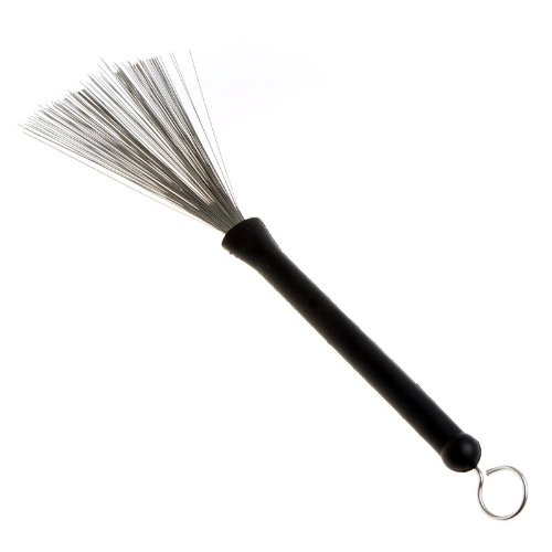 Kingzer Retractable Wire Strands Drum Brushes Stick For Lower Volume Playing