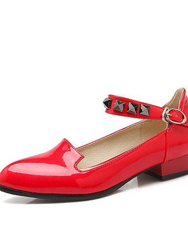 las uk6 señaló eu39 colores más white plano disponibles cn39 zapatos us8 Flats PDX mujeres talón zapatos de Toe EZqwZa