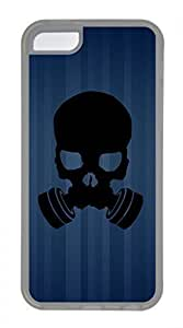 Hot iPhone 5C Case - Cool Skull 22 Lovely Milk Bottles Funny Lovely Best Cool Customize iPhone 5C Cover PC Transparent