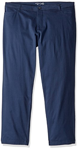 Riders by Lee Indigo Women's Petite-Plus-Size Straight Leg Casual Twill Pant, Dress Blues, 16W Petite ()