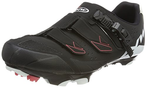 Northwave Womens Sparkle SRS Cycling Shoe, Womens, Sparkle SRS Black / White