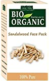 Indus Valley Organic Sandalwood Face Pack For Remove Skin Impurities - 100 gm.