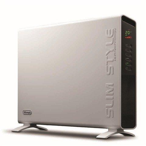 Delonghi HCX9124E Panel Heater with Timer 2400 watts 3 Heat settings HiFi...