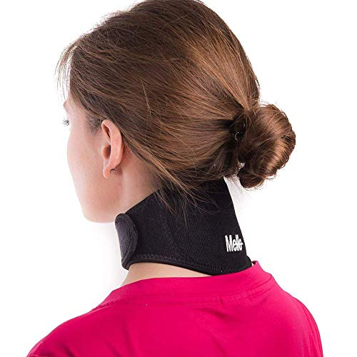 Mello Blue Neck Pain Relief - Health Magnet Physical Therapy for Migraines Headache - Chronic Neck Stiffness Brace-Soft Cervical Support Collar - Comfortable Air, Car TravelÉ from Mello