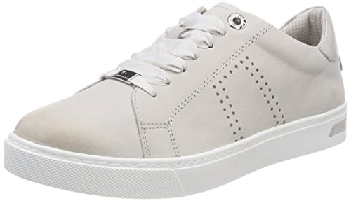 Basses Sneakers Lt Gris Grey 23641 Natural Femme Be v4Owzz