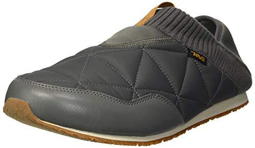 (Teva Men's M Ember MOC Slipper, Charcoal Grey, 12 M US)
