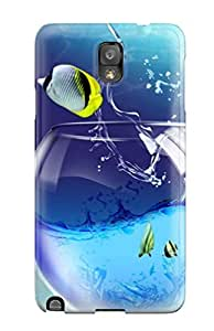 CkJThyX6313olYvB Tpu Case Skin Protector For Galaxy Note 3 Beautiful Fish With Nice Appearance