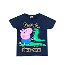 George the Pig Boys' Peppa Pig T-Shirt