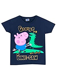George the Pig Boys' Peppa Pig T-Shirt