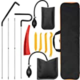 Anyyion Professional Car Tool Kit ,Easy Entry Long Reach Grabber, Air Wedge, Non Marring Wedge and Tool Bag, (Black) (Color: Black)