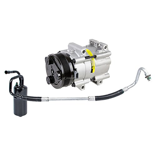 Premium Quality New AC Compressor & Clutch With A/C Drier For Sable & Taurus - BuyAutoParts 60-86371R2 New