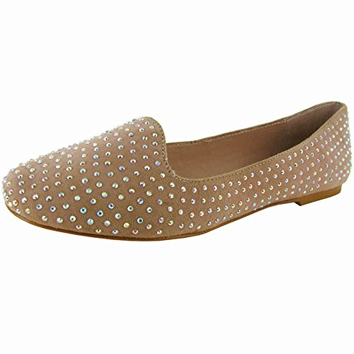 Betsey Johnson Women C-Bali Flat Shoe Blush uiO8SxRc4