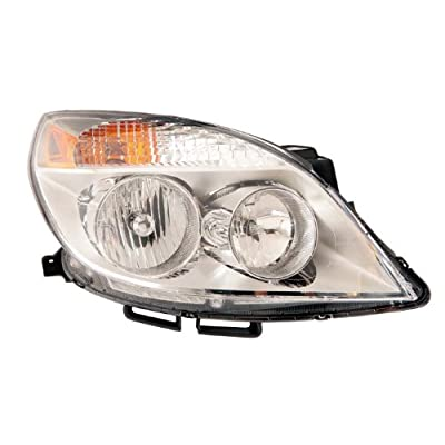 Depo 335-1149R-ASN Saturn Aura Passenger Side Composite Headlamp Assembly with Bulb and Socket: Automotive