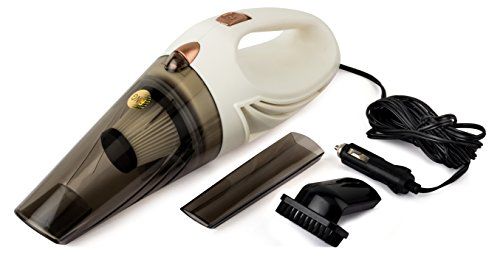 RNG EKO Green 150Watt High Power Wet/Dry Single Hand Held Car Vacuum Cleaner - White(12 V)