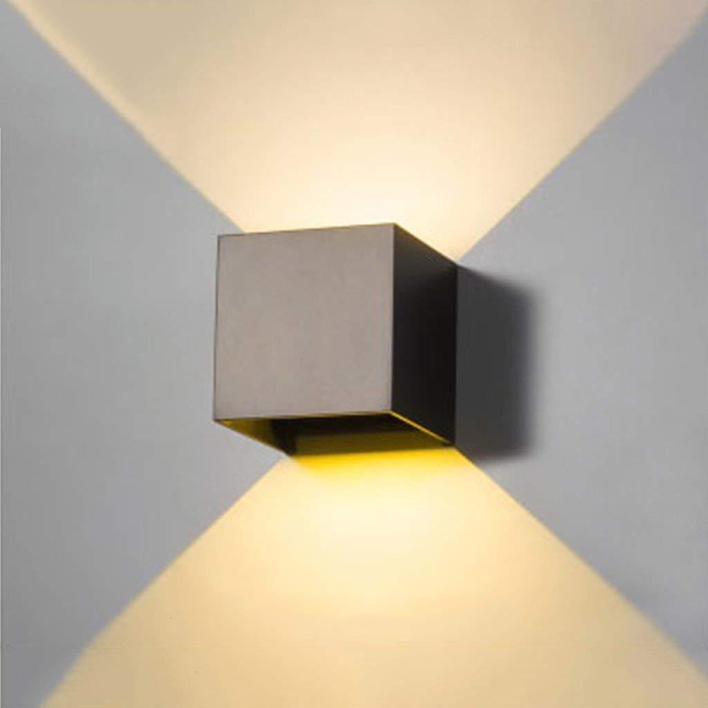 A BAIJJ Wandleuchten LED wasserdichte Wandleuchte Modern Minimalistisches Interieur Im Freien wasserdichte Gartenwandleuchte Schlafzimmer Nachttischlampe Gangwand Projekt Außenwandleuchte Hotel KTV