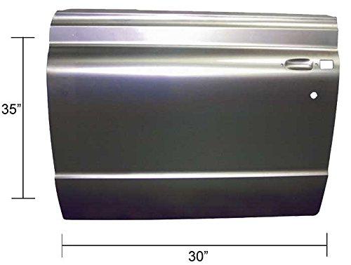 Door Skin - Outer Complete - LH - 67-72 Chevy GMC Truck Suburban; 69-72 Blazer Jimmy