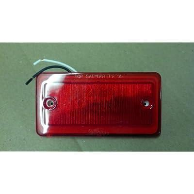 Truck-Lite 25250R Red LED Model 25 Cab Marker Light (Sealed 6 Diode Pattern): Automotive