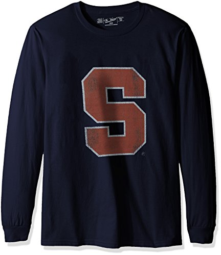 NCAA Syracuse Orange Men's Long Sleeve Tee, XX-Large, Navy ()