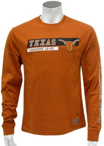 Colosseum Texas de Hombre Trofeo Camiseta de Manga Larga, Hombre, Texas Orange, Medium: Amazon.es: Deportes y aire libre