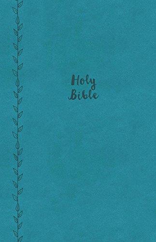 Read Online KJV, Value Thinline Bible, Large Print, Leathersoft, Blue, Red Letter Edition, Comfort Print ebook