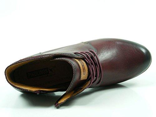 cuero marrón cuero cognac Mujeres cognac 902 8901 Rojo Botas qHZn1