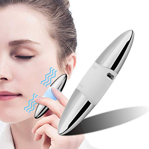 Vivifast Facial Massager Sonic Eye Massager for Anti-ageing Stress Relieves Dark Circles and Puffiness Skin Tightening USB Recharging
