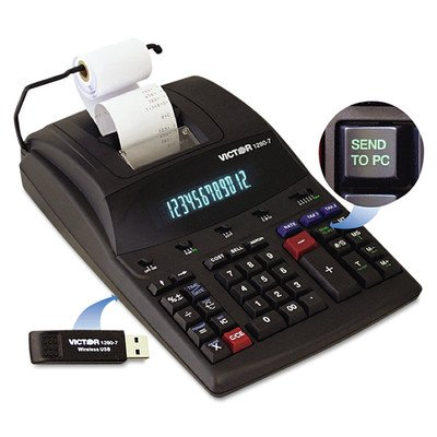 Printing Calculator with USB, 4.6 Lines/Sec by Victor