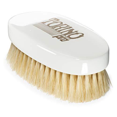 Torino Pro Wave Brush #1070 - By Brush King - Soft Oval Palm/Military 360 Waves Brush