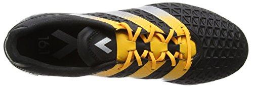 adidas Ace 16.1 SG, Botas de Fútbol para Hombre Negro (Core Black/Silver Met./Solar Gold)