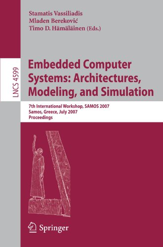 Embedded Computer Systems: Architectures, Modeling, and Simu