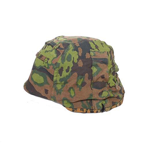 (HOME DAILY SALE WWII WW2 German M35 Helmet Cover Double Side Reversible Splinter)