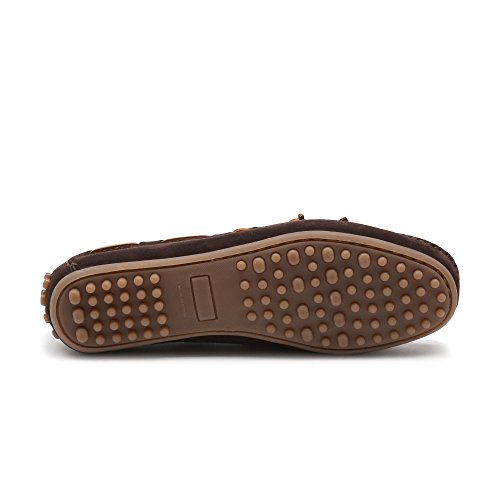 Mocasín de ante marrón SEFLECK-CACAO