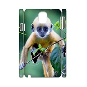 case Of Monkey 3D Bumper Plastic customized case For samsung galaxy note 3 N9000