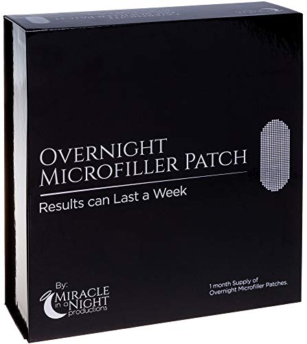 Miracle in a Night Overnight Microfiller Patch - Helps Reduce Wrinkles, Crow's Feet, Fine Lines Around Eyes & Mouth w/Hyaluronic Acid (4 Pairs)