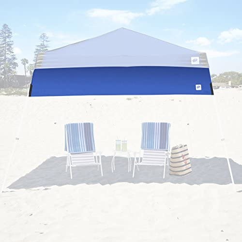 E-Z UP Recreational Half Wall Royal Blue – Fits Angle Leg 12 E-Z UP Instant Shelters