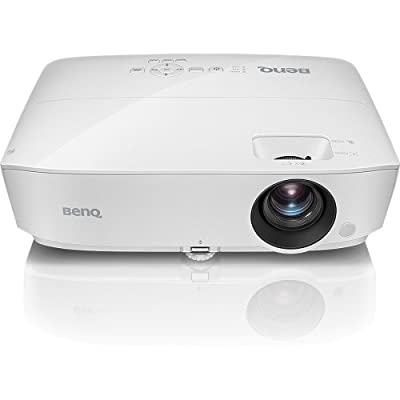 BenQ MH535FHD 1080P DLP Home Theater Projector, High Brightness, High Contrast 15,000:1, 3D Compatible, Keystone, HDMI, 15,000 Hours Long Lamp life, 1.2X Zoom