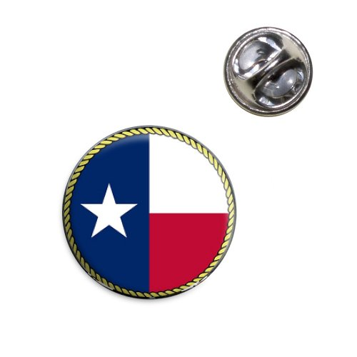 Texas State Flag Lapel Hat Tie Pin Tack ()
