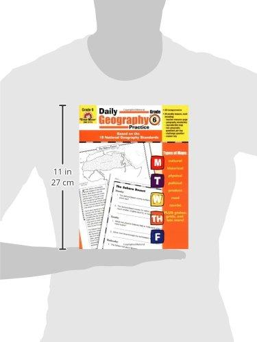 Amazon.com: Daily Geography Practice: Grade 6 (0023472037152 ...