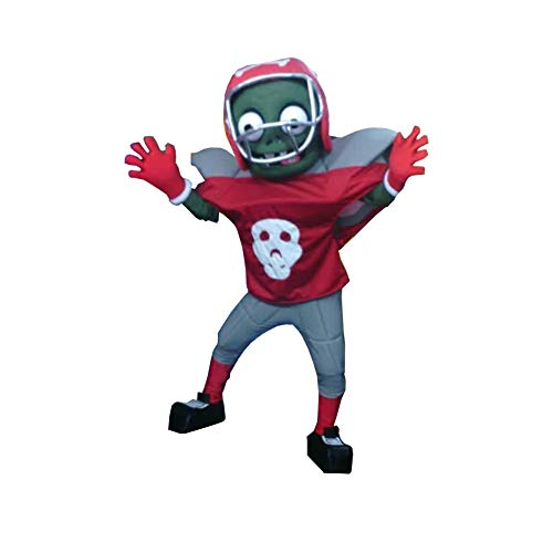 Football Zombie Plants VS Zombies Mascot Costume Character Cosplay Party Birthday Halloween]()