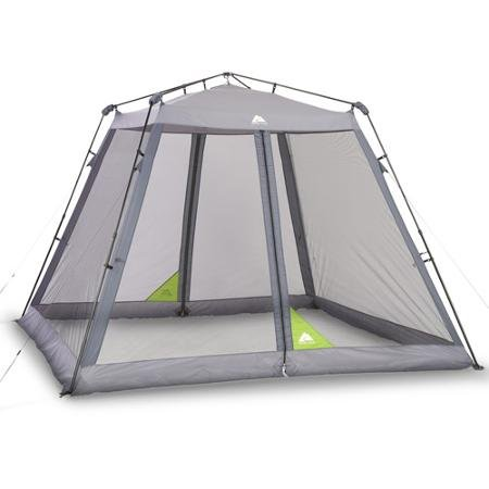 Ozark Trail 10' x 10' Instant Screen Canopy with 2 Chairs Va