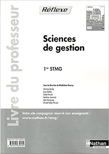 Livres gratuits en ligne Sciences de gestion - 1re STMG epub pdf