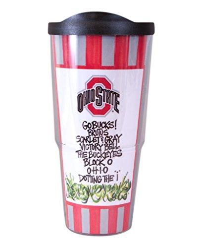 Ohio State University Travel Tumbler with Lid (24 oz)
