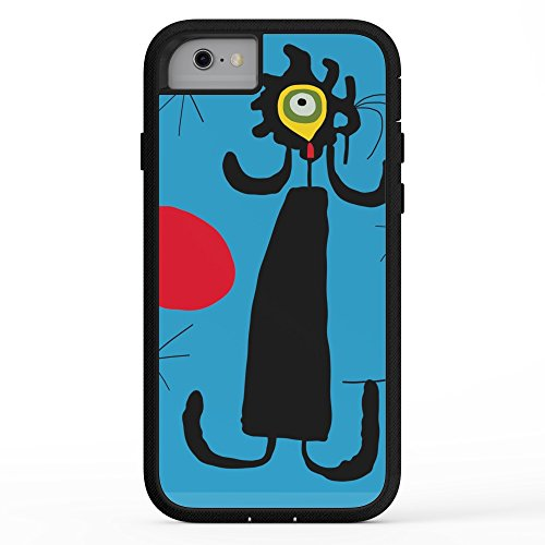 Miro Abstract Painting - Society6 Art Work Inspired To J. Mirò (n.4) Adventure Case iPhone 7