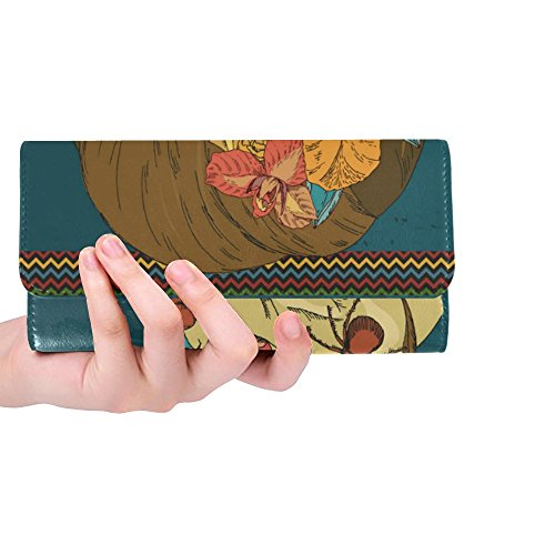 Meow Dead Day Long The Great Trifold Clutch Women's Wallet 1 Wallets Of Gift Custom Seahorses Women's Silly dfpZ07d