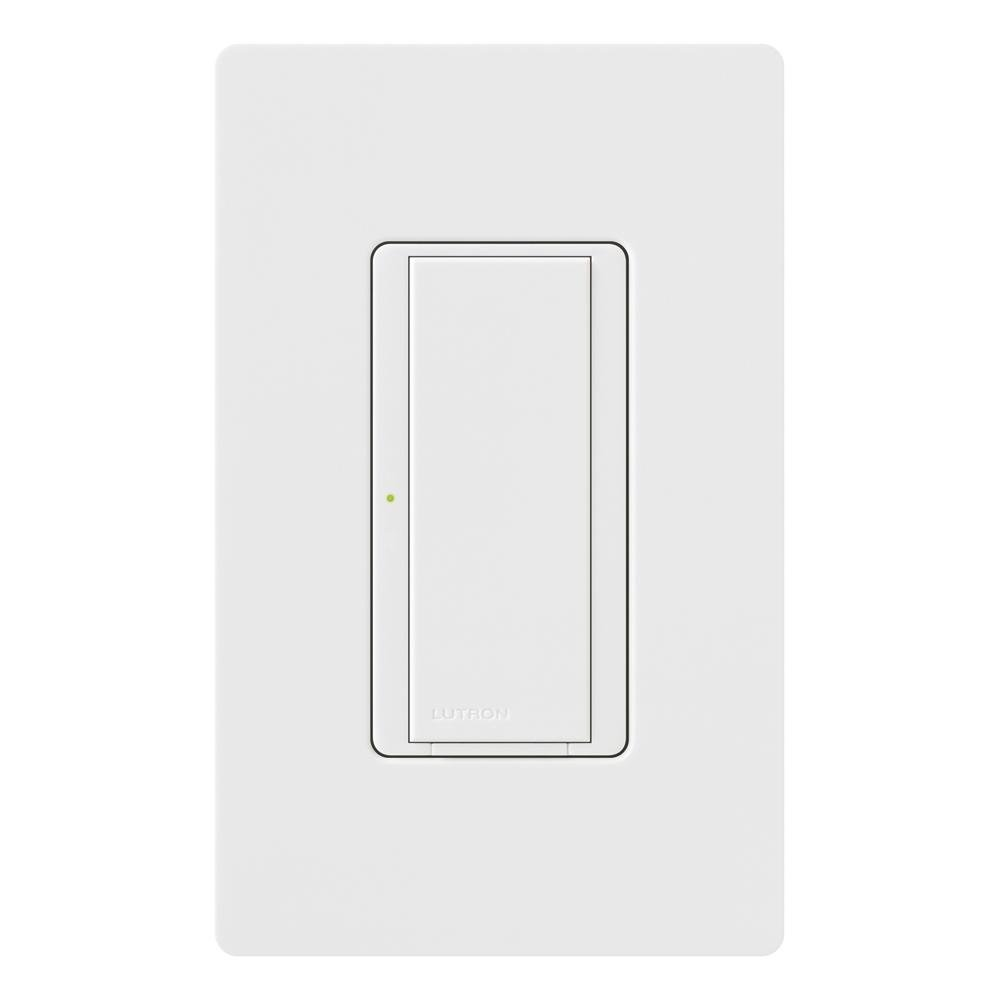 Lutron MA-S8AM-WH 8-Amp Maestro Digital Light Switch, White - Wall ...