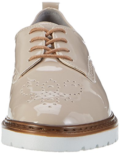 Jenny 22-50014, Zapatos de Cordones Derby Mujer Beige (Taupe)